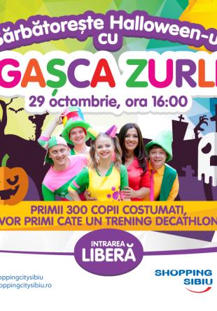 Halloween de poveste cu Gașca Zurli la Shopping City Sibiu!