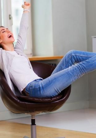 Cea mai dulce relaxare o găseşti acasă!