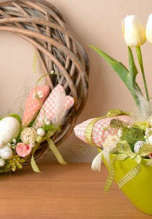 Întâmpină Paștele cu cele mai drăguțe decorațiuni!