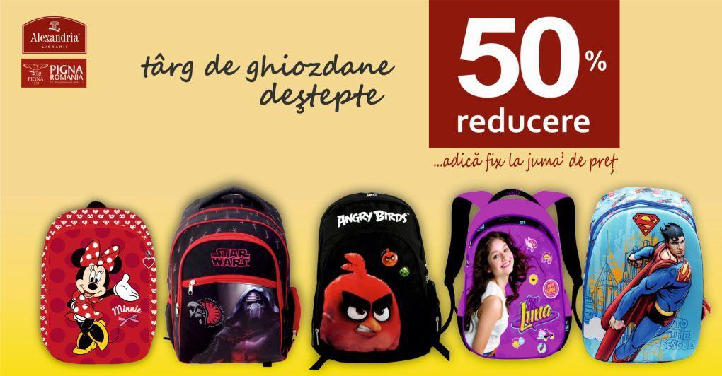 calitate superioară noi de înaltă calitate cel mai bun angrosist Alexandria Librării: -50% la ghiozdane! - Shopping City Sibiu