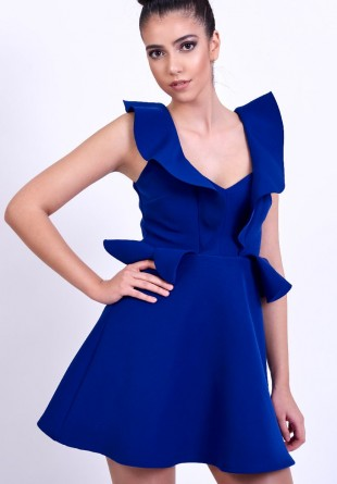 Ținuta săptămânii: Little blue dress by Lashez